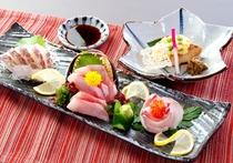 お造り 3種の鯛を味くらべ
