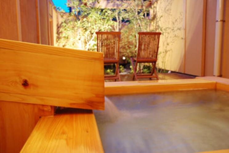 椎の木客室露天風呂