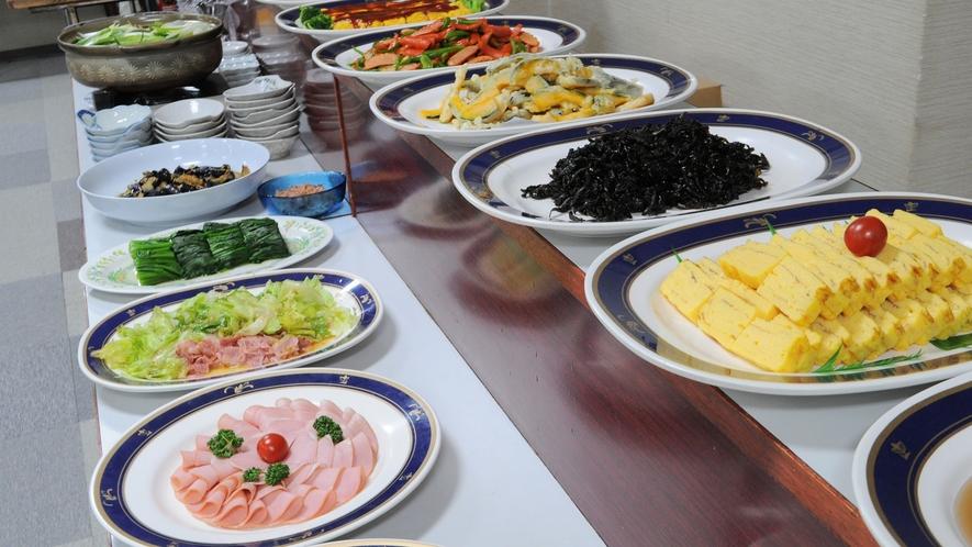 【朝食バイキング】旬の食材をお腹一杯お召し上がり下さい ※当面の間、和定食でのご案内となります