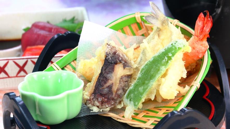 季節の食材をシンプルに天ぷらでお召し上がりください。