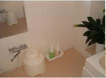 和室宿泊者専用の浴室