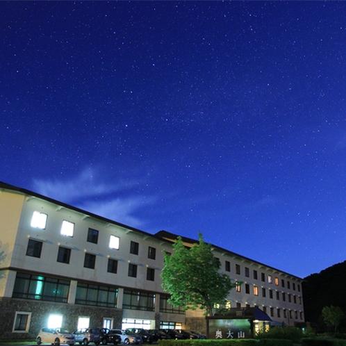 星取県 星降る宿で過ごす夜