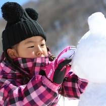 雪遊びファミリープラン