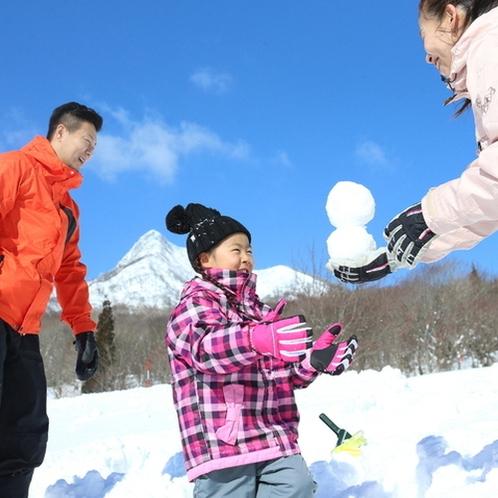 令和初の雪遊びファミリープラン