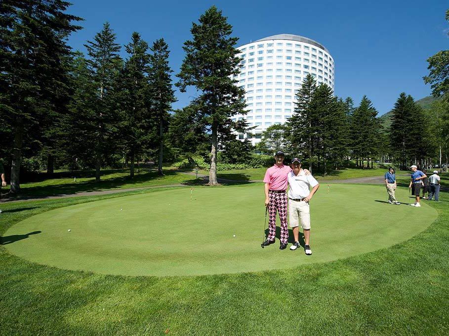 ニセコビレッジでゴルフを満喫!