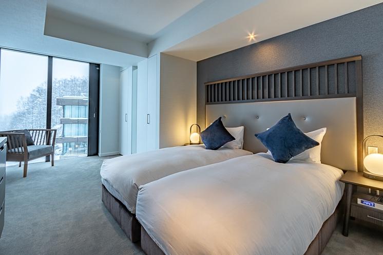 アパートメント・ツインベッド