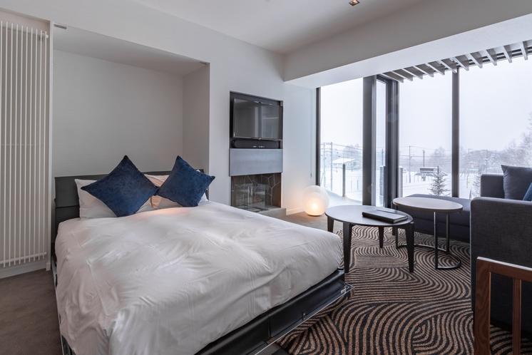1ベッドルームアパートメント・収納式ベッド
