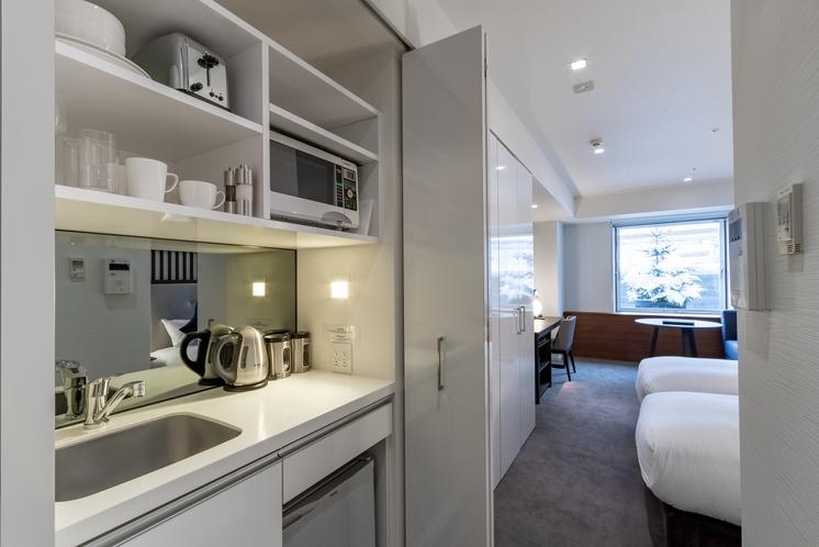 ホテルルーム 簡易キッチン(ガス・IH無し)