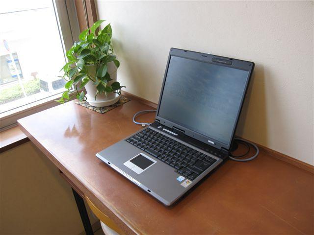 ロビー パソコン