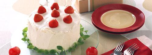 お祝いケーキのご案内
