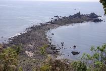 真鶴半島先端 三つ石
