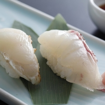 淡路島3年とらふぐ 握り寿司★