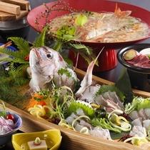 旬の味覚「鯛」&「淡路牛」を楽しめる【メデ鯛プラン】