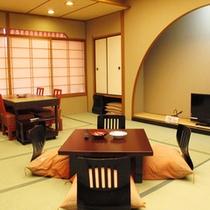 【さんさ亭本館】楽居庵 和室17.5畳
