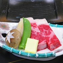 【春】国産牛陶板ステーキ