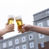 サッポロビール誕生の地で飲むビール