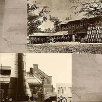 明治9年頃の札幌開拓使醸造所イメージです。