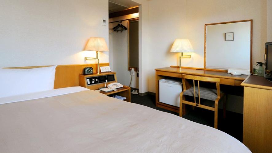【シングルルーム】清潔感を大切に心を込めた清掃で、お客様にご安心してお休みいただけます。