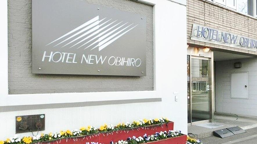 【ホテル入り口】