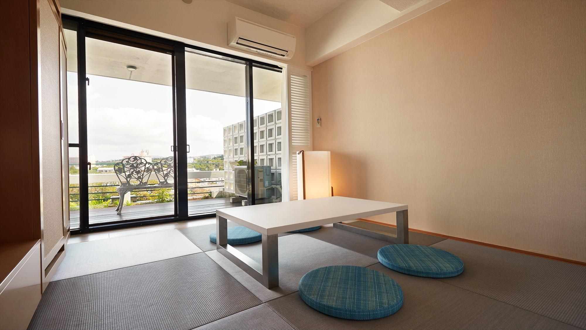琉球畳を使用した和室