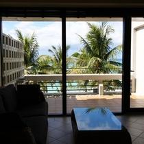 海側のお部屋からの眺望