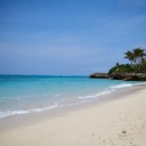 ご宿泊者は自由にビーチをご利用いただけます