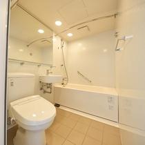 バスルームも新しくなりました。