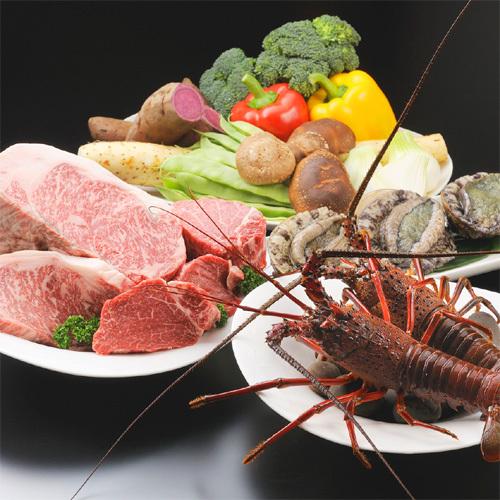 伊勢志摩の新鮮素材と全国の厳選された美味食材を、一番美味しい時期にご堪能いただけます。