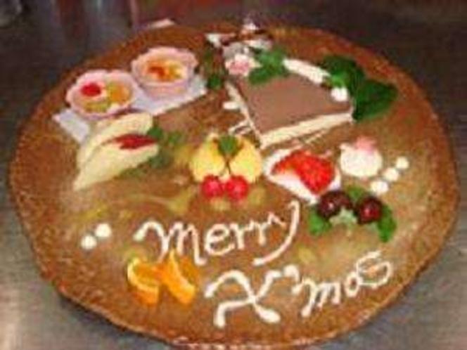 クリスマスの特別デザート