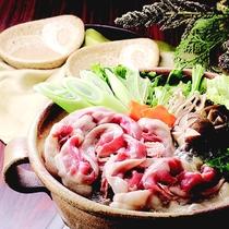 【ぼたん鍋一例】猪肉・お味噌にこだわった絶品のお鍋♪
