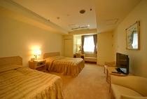 サンプラVIP特別室の寝室