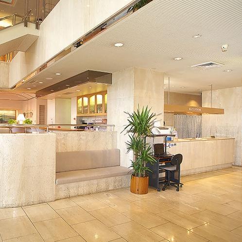 【1Fフロア】フロント・宿泊者専用ラウンジ・さけ処「和凛」・化粧室・喫煙所がございます