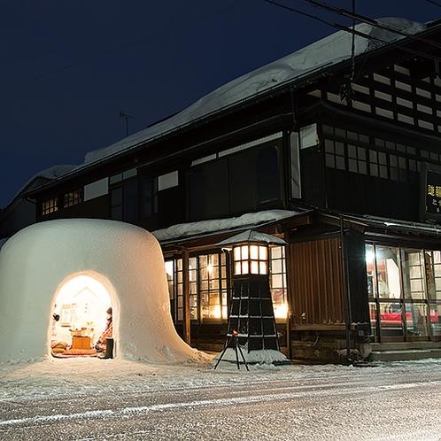 【冬】横手のかまくら 毎年2月15,16日
