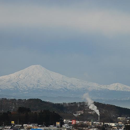 【景色】晴れた日は鳥海山が見えることも!