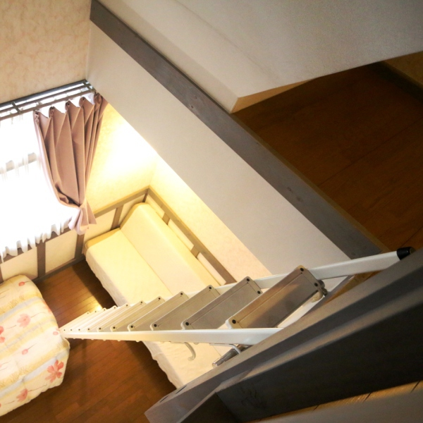 ロフトタイプ4ベッドルーム(客室204)