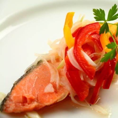 夕食の一品 魚料理