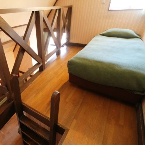 大人なシックなロフトタイプの4ベッドルーム(客室201)