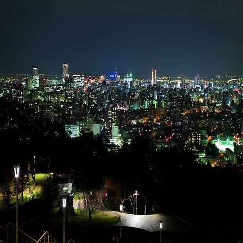 【旭川夜景】