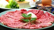*【すき焼き】オリジナルの割下はお肉との相性バッチリ♪老舗旅館のすき焼き!