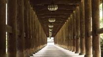 *【奈良・長谷寺の登廊】重要文化財の「のぼりろう」では、風雅な長谷型の灯籠を吊るしている。