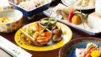 *【季節会席・竹コース】一品一品に旬の食材を巧みに使用し、食材本来の良さを引き出した会席料理(一例)