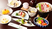 *【季節会席・梅コース】四季折々の季節をお料理の中でお楽しみいただける、真心こめた会席料理(一例)