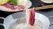 【倭かも鍋】大人気!「倭かも鍋の大鍋」がメインの冬限定のお鍋コース!