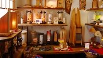 *【周辺店舗】当館より徒歩3分のギャラリー初瀬蔵。手作りの木のぬくもりが感じられる木工芸品を販売!