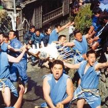 【八幡祭り】