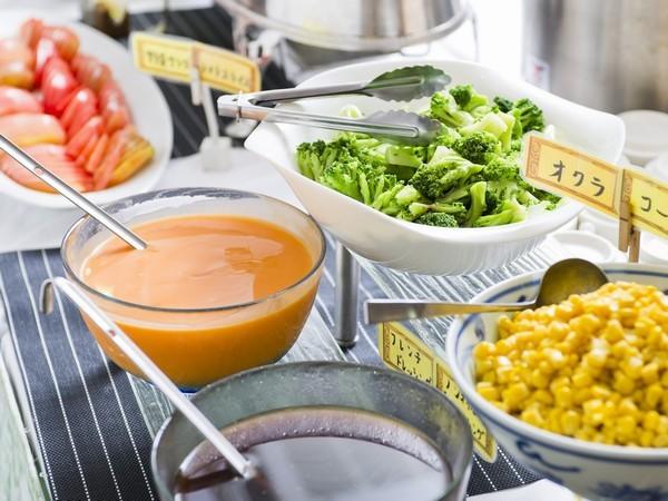 朝食〜サラダ〜