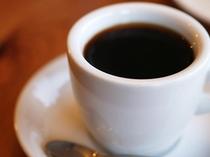 ウェルカムコーヒーでほっと一息♪