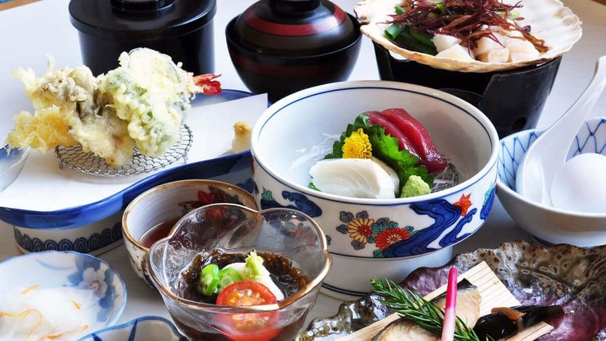 【グレードアップ和定食】新鮮な旬の味をお楽しみいただけます♪