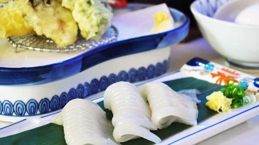 【グレードアップ和定食】仕入れにより帆立焼きかイカ刺しどちらかのご提供となります