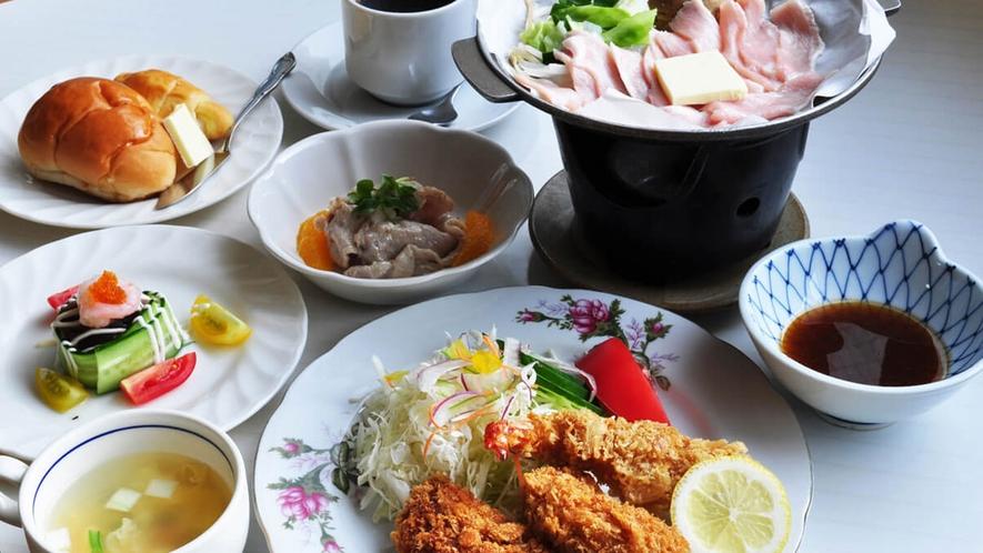 【グレードアップ洋定食】旬の味覚をお楽しみください